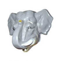 1 MASQUE PLASTIQUE �L�PHANT ADULTE