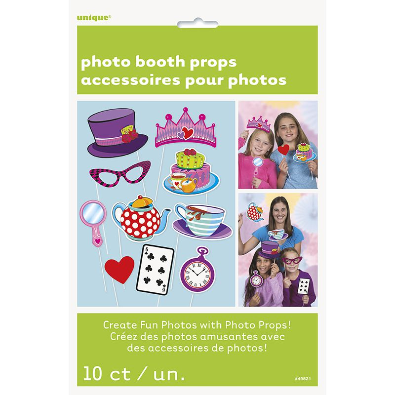 10 ACCESSOIRES PHOTO BOOTH THÉ