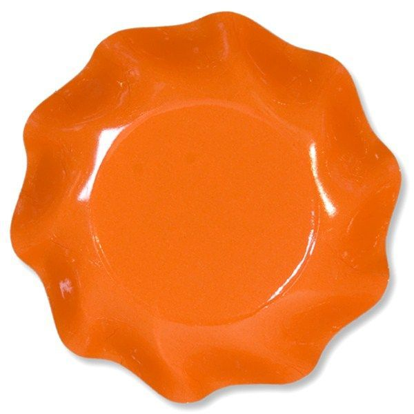 10 COUPELLES 18.5CM - ORANGE