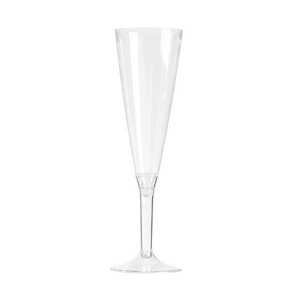 flûte à champagne plastique