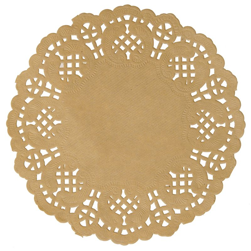10 SETS DE TABLE DENTELLE KRAFT