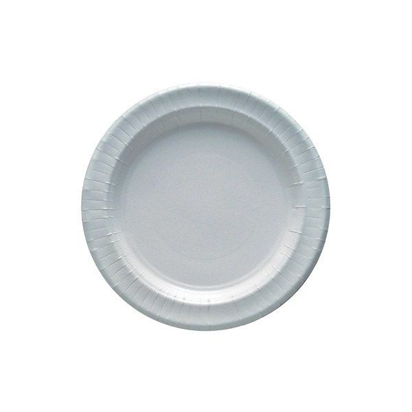 Assiettes carton blanches