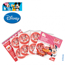 12 DISQUES HOSTIE 4,5CM  MINNIE