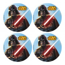12 MINI DISQUES D\'AZYME STAR WARS 4,5 CM