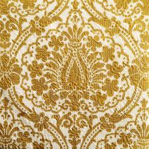 15 SERVIETTES 33*33CM ARABESQUE OR FOND