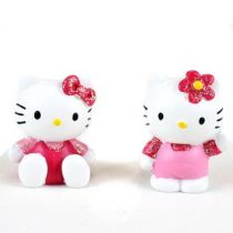 2 SUJET HELLO KITTY 3.5CM