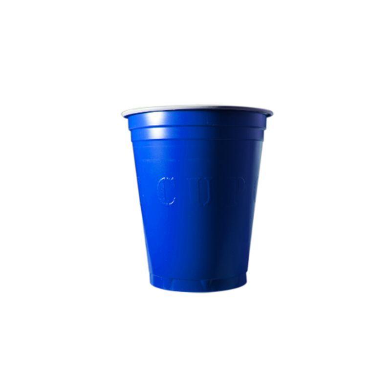 gobelet américain bleu