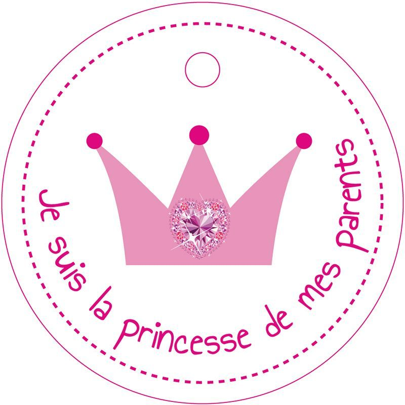 25 NOMINETTES COURONNE PRINCESSE