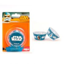 50 CAISSETTES CUPCAKES STAR WARS
