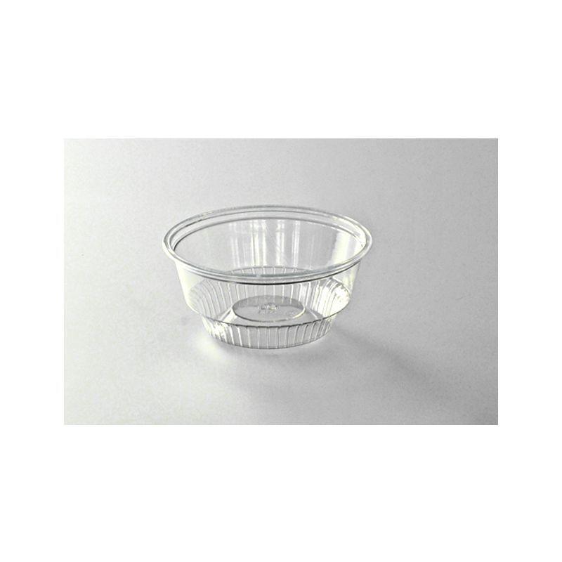 coupe à dessert plastique transparente