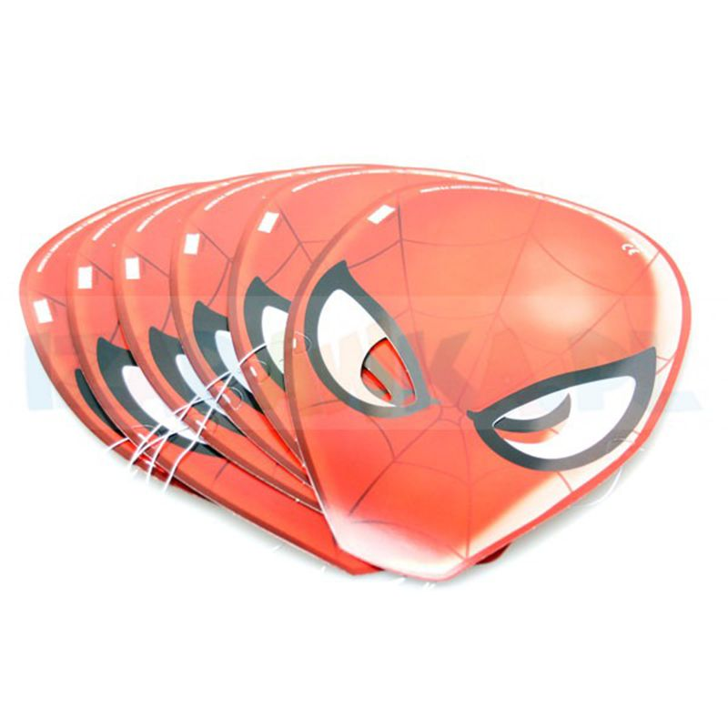 6 MASQUES EN CARTON SPIDERMAN ULTIMATE