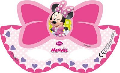 6 MASQUES MINNIE BOW
