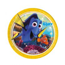 8 ASSIETTES 23 CM FINDING DORY