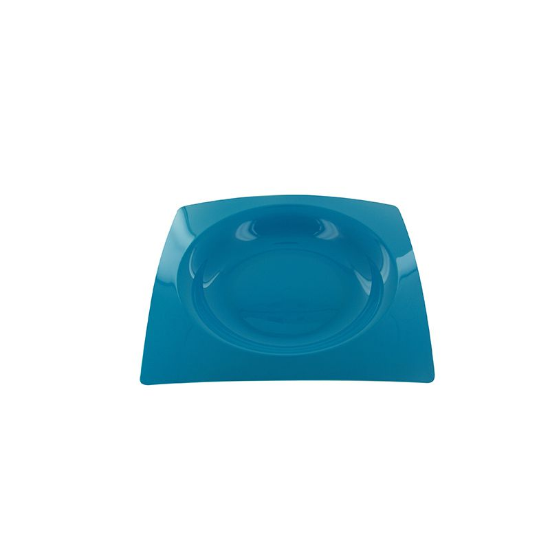 8 ASSIETTES FRENCHY 20CM-TURQUOISE