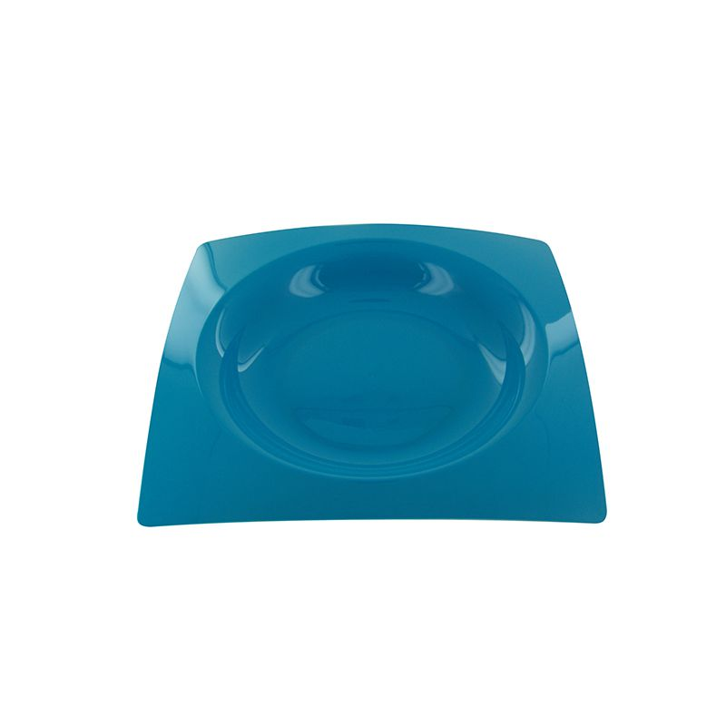 8 ASSIETTES FRENCHY 23,5CM-TURQUOISE