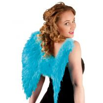 AILES D\'ANGE 50*50CM - TURQUOISE