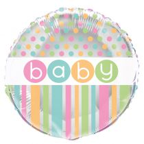 BALLON ALU BABY SHOWER + H�LIUM