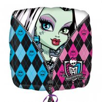 BALLON ALU MONSTER HIGH 45 CM + HÉLIUM