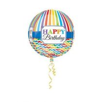 BALLON ORBZ BIRTHDAY + H�LIUM