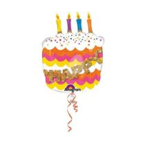 BALLON SUPER BIRTHDAY + H�LIUM