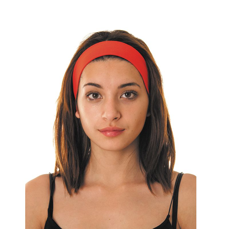 BANDEAU 80\'S ROUGE ADULTE