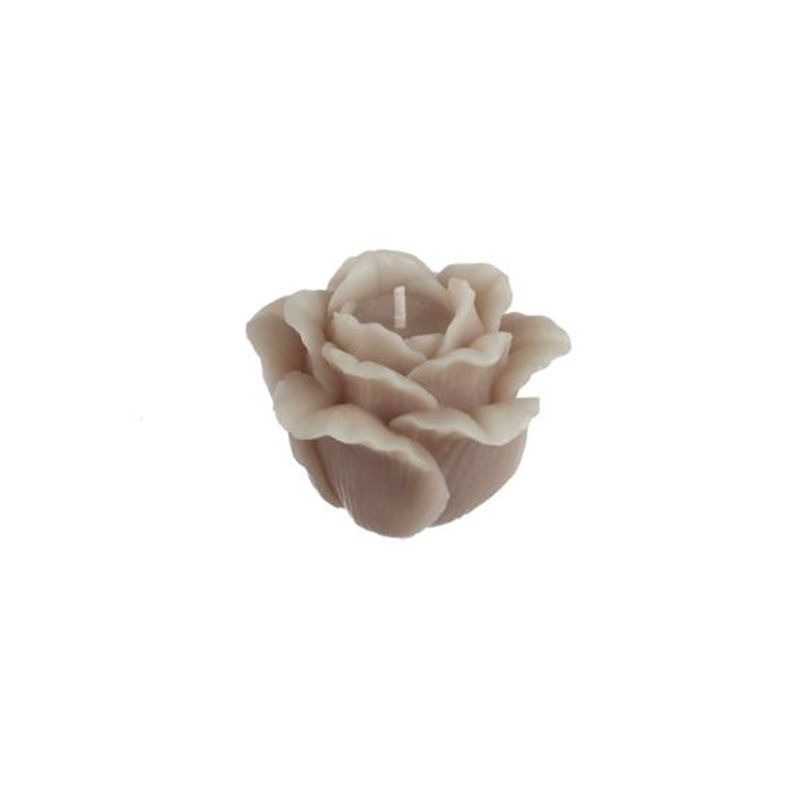 BOUGIE FORME ROSE 7,5XH5,5