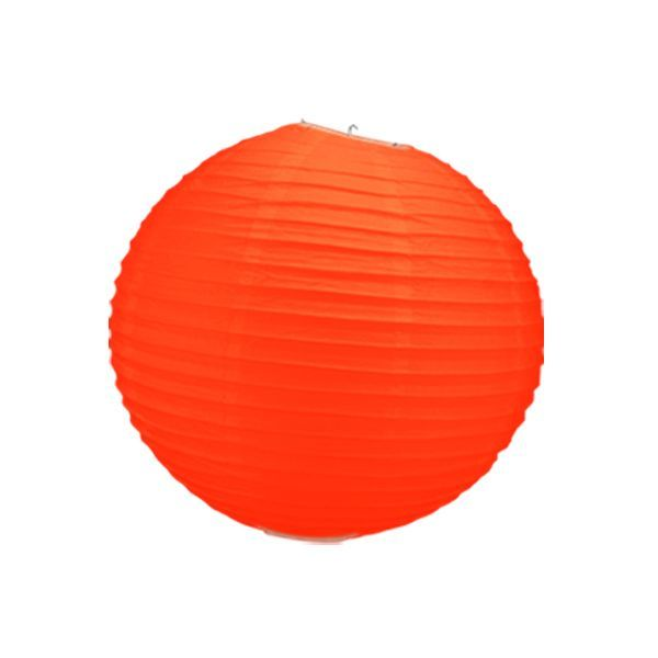 boule chinoise orange 40 cm