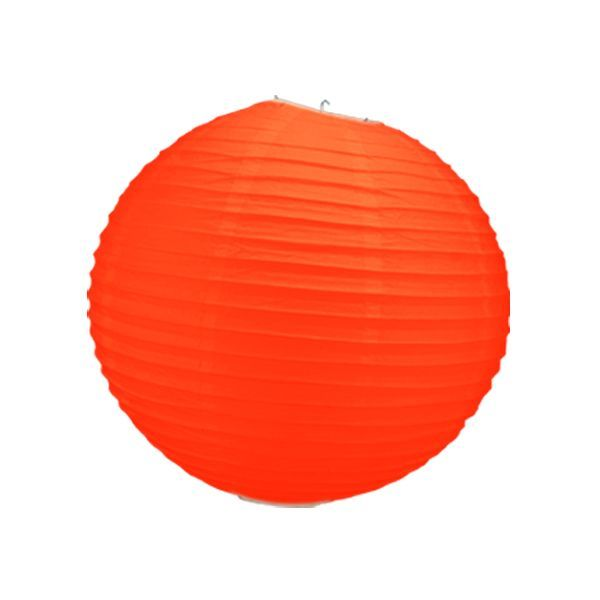 boule chinoise orange 50 cm