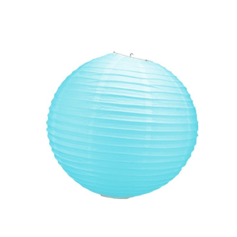 boule chinoise turquoise 40 cm