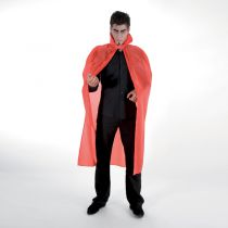 CAPE TAFFETAS ADULTE 127 CM ROUGE