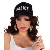 CASQUETTE POLICE REGLABLE