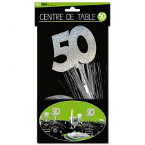 CENTRE DE TABLE 50 ANS
