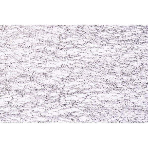 CHEMIN DE TABLE GLITTER 30CM*5M - ARGENT