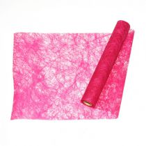 CHEMIN DE TABLE ROMANCE 60CM - FUCHSIA