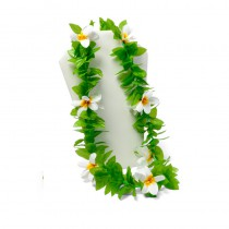 COLLIER FLEURS BLANCHES