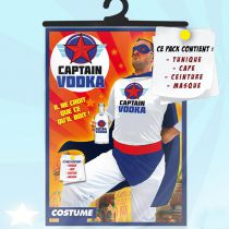 COSTUME HUMOUR CAPTAIN VODKA