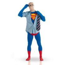 DÉGUISEMENT ADULTE 2ND SKIN SUPERMAN