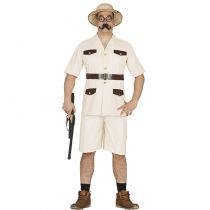 déguisement chasseur safari adulte