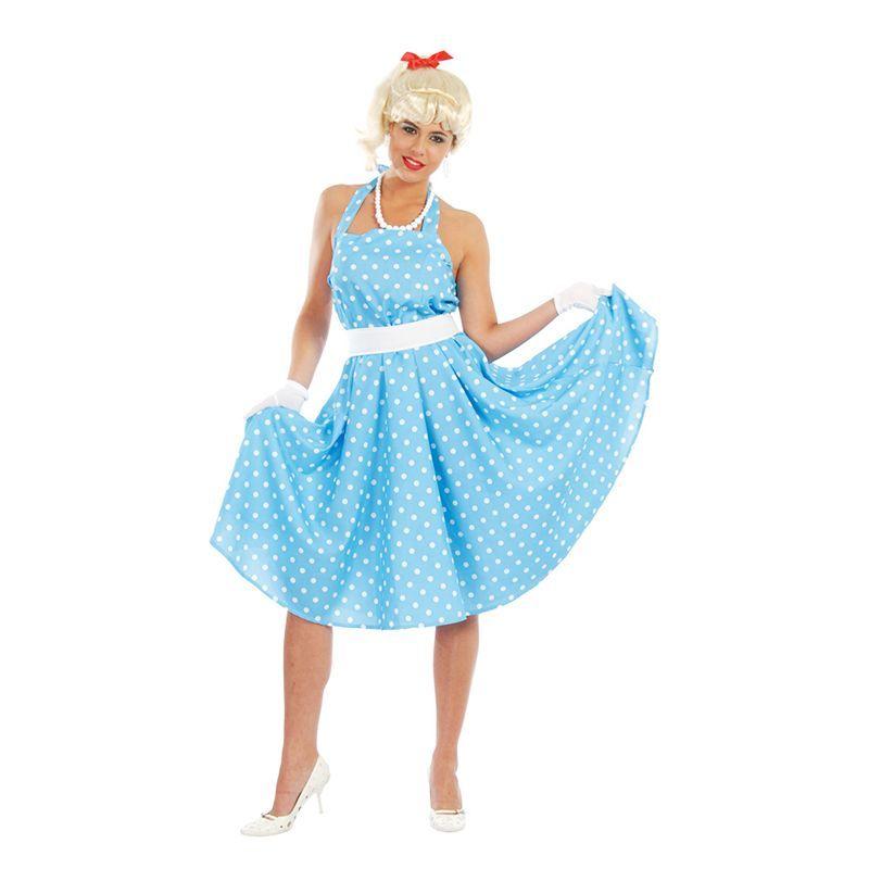 déguisement  robe à pois année 50