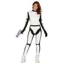 déguisement soldat de l'espace femme