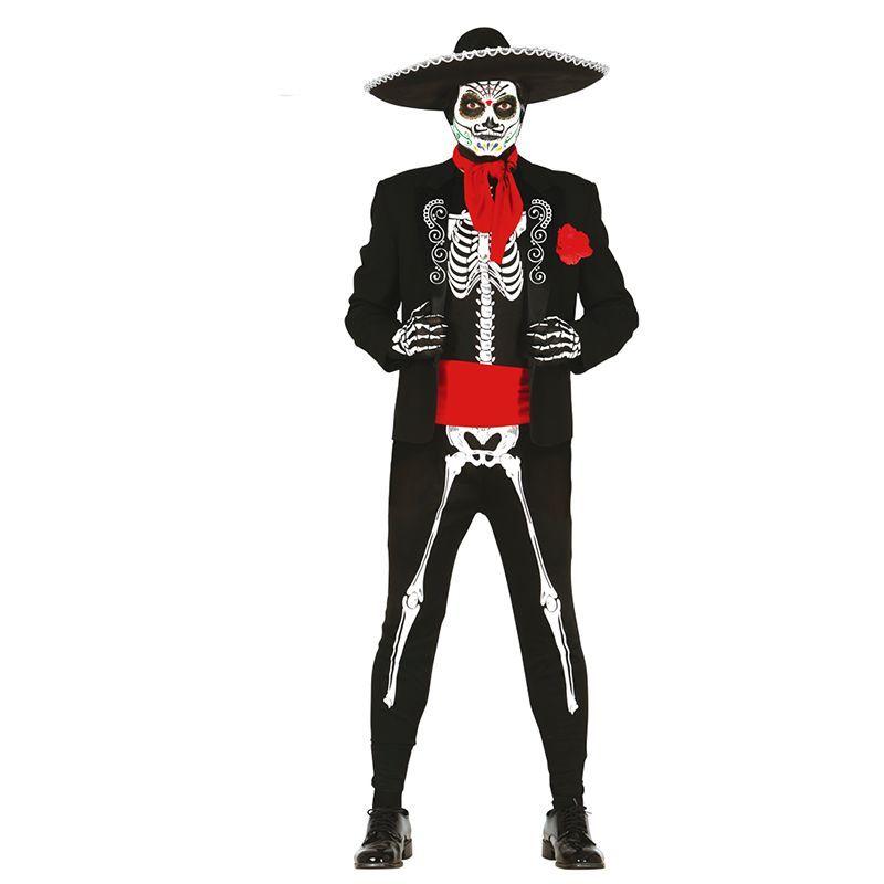 d guisement squelette mexicain homme. Black Bedroom Furniture Sets. Home Design Ideas