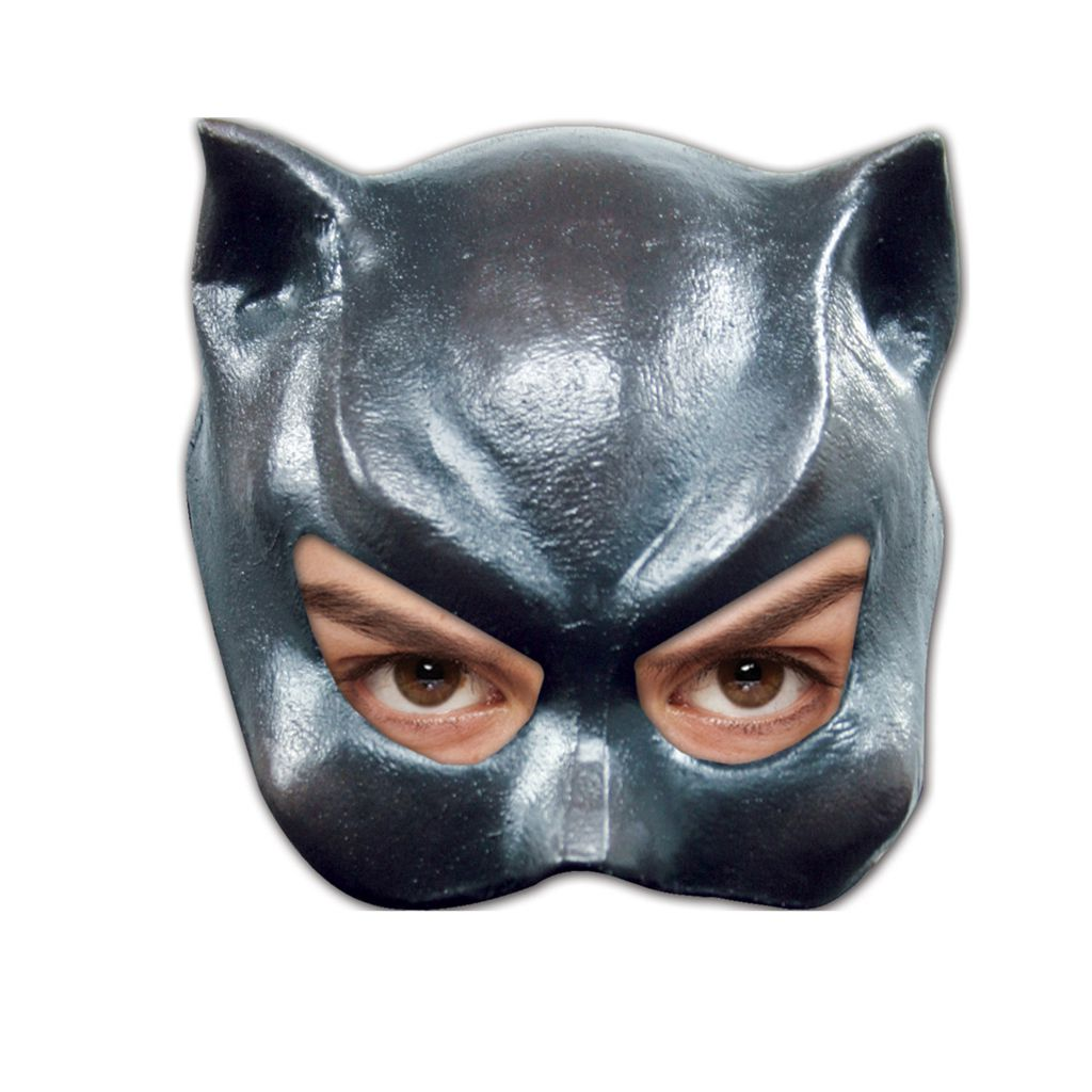 DEMI MASQUE CHAT FEMME EN LATEX
