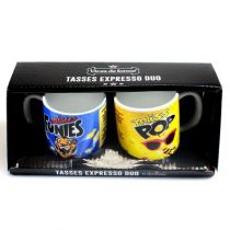 DUO TASSES EXPRESSO MISTER FUNIES+MISS P
