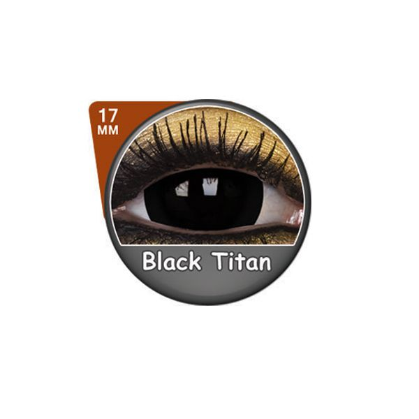 LENTILLES 1 AN FANCY 17mm BLACK TITAN
