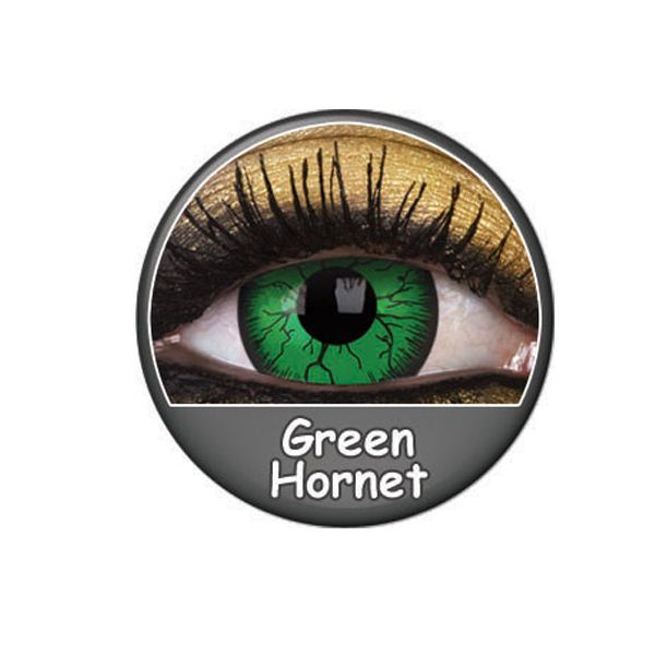 LENTILLES 1 AN FANCY LENS GREEN HORNET
