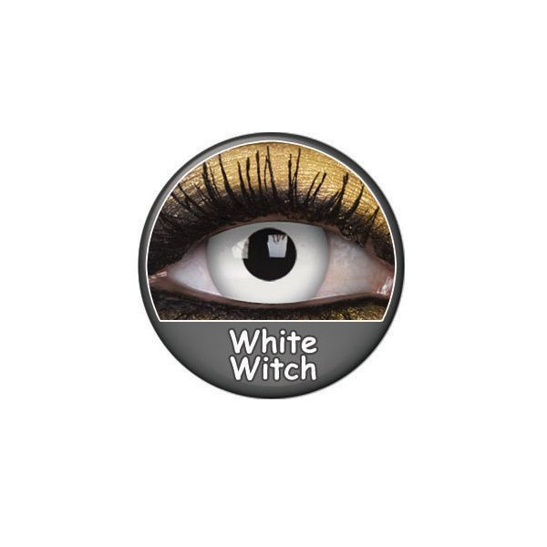 LENTILLES 1 AN FANCY LENS WHITE WITCH