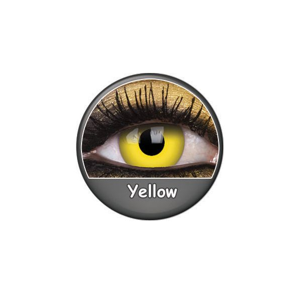 LENTILLES 1 AN FANCY LENS YELLOW