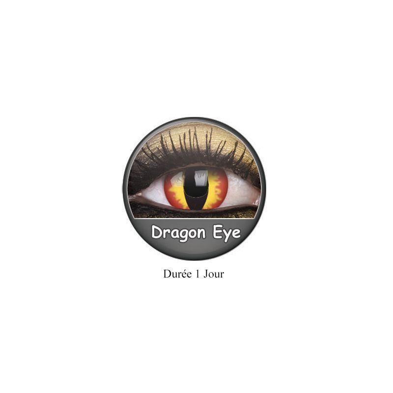 lentilles yeux dragons