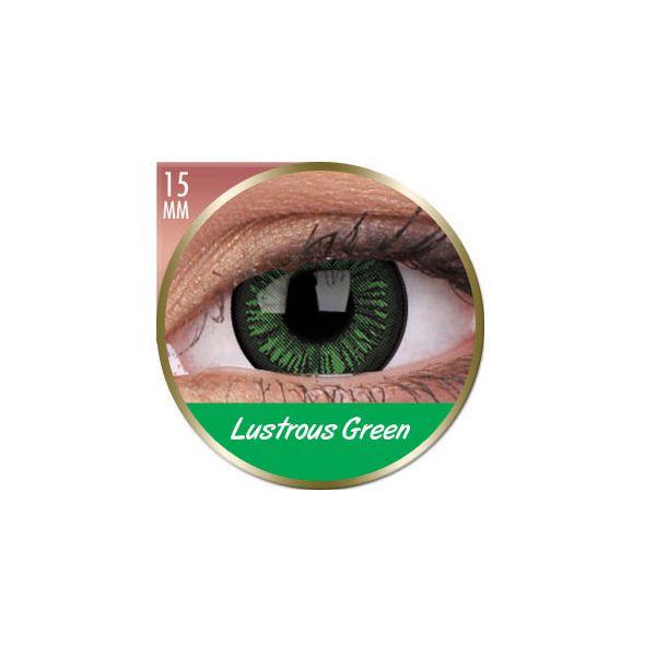 LENTILLES 3 MOIS BIG EYES LUSTROUS GREEN