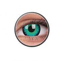 LENTILLES FANCY LENS GREEN WEREWOLF 14MM